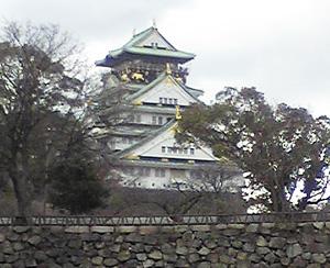 2015年1月1日 大阪城